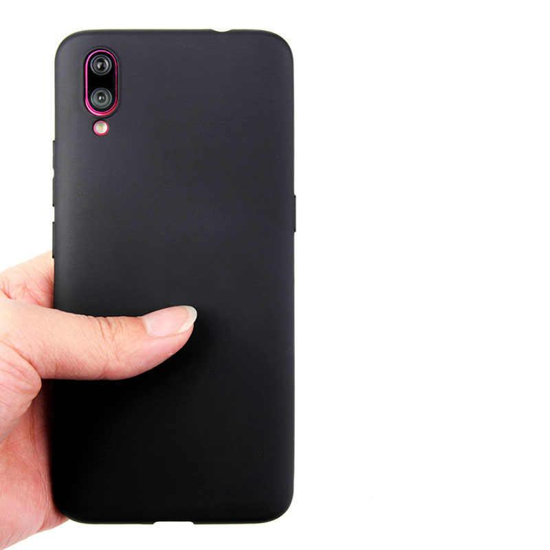 עבור Vivo X6 X7 X9 X9s X לשחק 5 6 Y53 Y55 Y56 Y66 Y69 Y71 Y75 Y79 Y81 Y83 y91 Y93 Y97 V11i בתוספת TPU כיסוי סוכריות צבעים טלפון מקרה