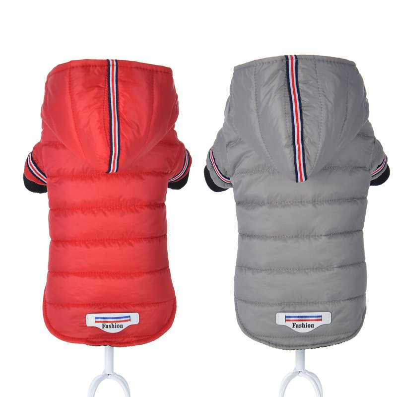 2018 Winter Pet Dog Clothes Warm Down Jacket Waterproof Coat Hoodies for Chihuahua Small Medium Dogs Puppy Best Sale XS-XXLN