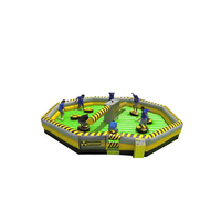 Funny sports game, inflatable meltdown games,inflatable wipeout course games