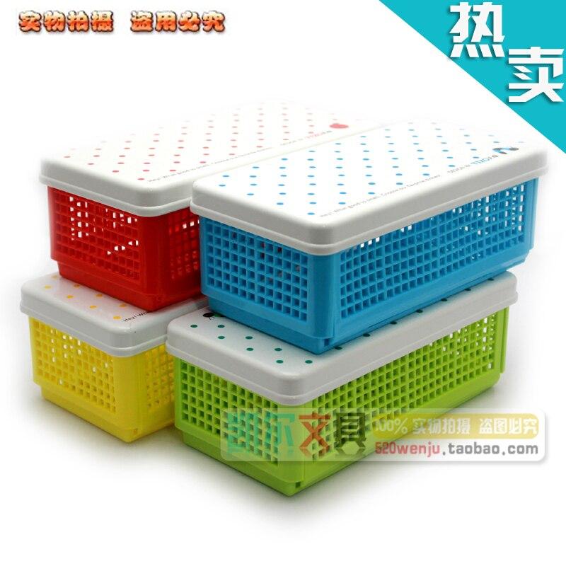 Stationery folding stationery box miscellaneously storage box cosmetics stationery storage box