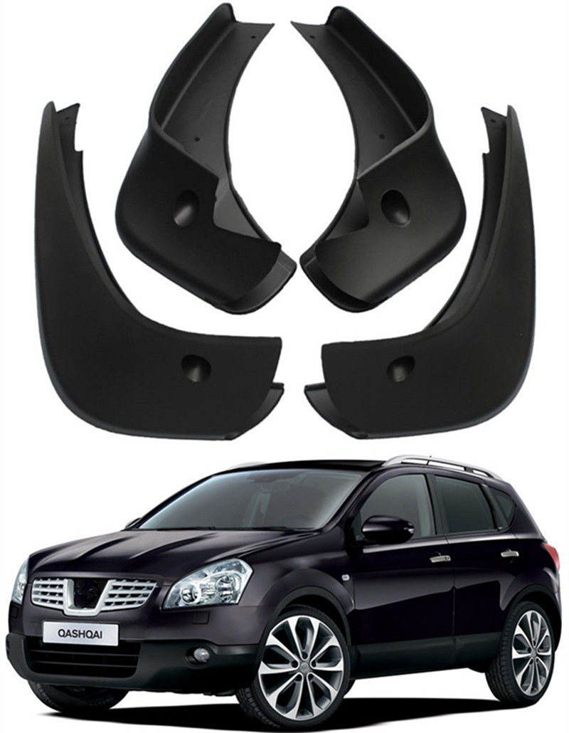 Auto Splash Guards Mud Flaps Fit For 2007-2013 Nissan QASHQAI J10 fender kefu 5b20l77440 nm a804 for lenovo ideapad 110 15ibr laptop motherboard n3060 tested