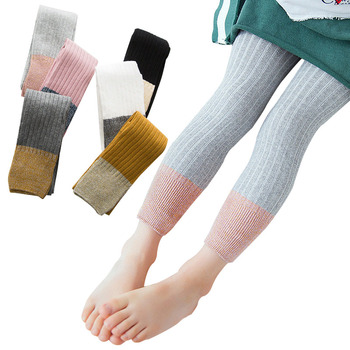 Cotton Tights For Girls Toddler Infant Kids Baby Fashion Warm Pantyhose Child Girl Hosiery Stockings 1-8 Years