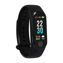 RAVI M3Plus Smart Watch Fitness Bracelet Sport Tracker Heart Rate Blood Pressure Monitor Smartwatch IP67 Connect Android Iphone