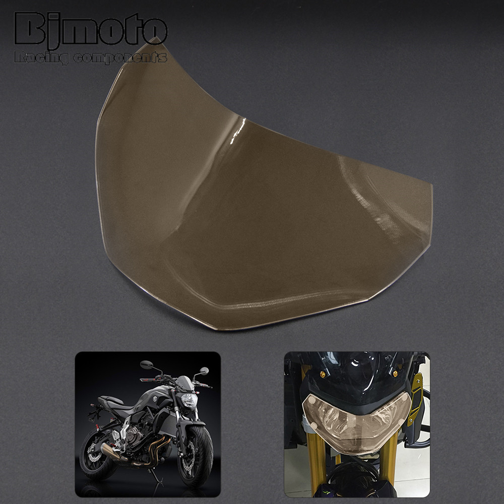 Bjmoto Hot Sale For Yamaha MT09 FZ09 MT-09 FZ-09 2013 2014 2015 2016 Motorcycle ABS Headlight Screen Protective Cover