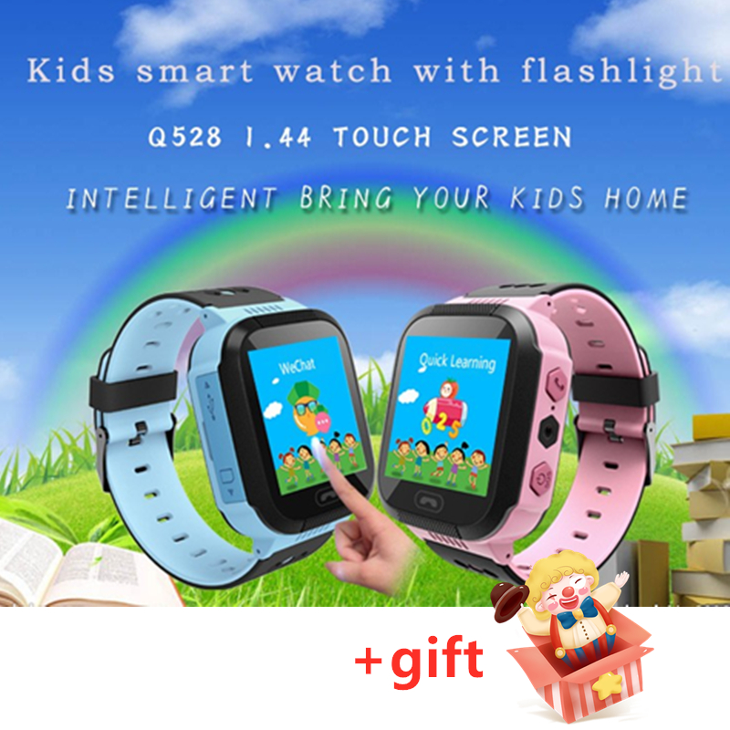 Kids GPS Tracker Smart Watches GPS LBS SOS Call location Anti-lost sensor no camera children school boy girl watch Clock Q528