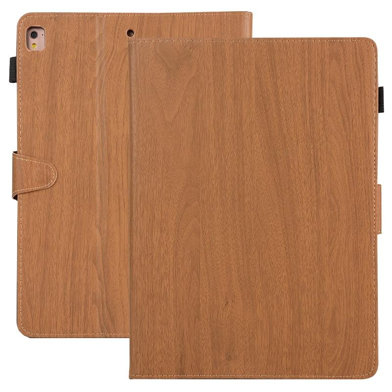 3 2 1 Fanshu Wood Grain Case for Apple iPad 2018 2017 Mini 4 7.9