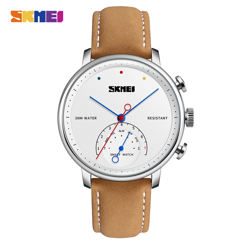 SKMEI модные и повседневные умные мужские и женские часы Blueteeth фотография пара Quatz наручные часы H8