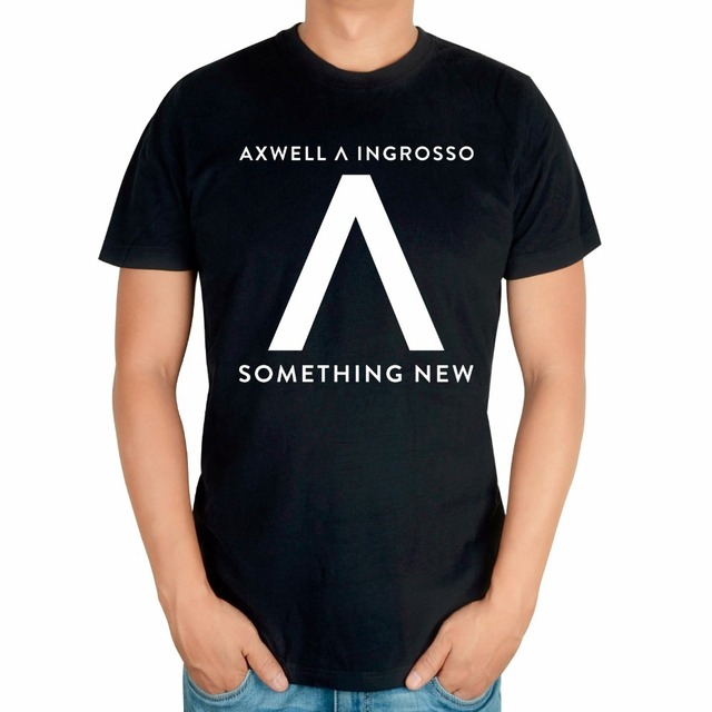 Black White Summer Style Cool Fashion AXWELL INGROSSO Brand Singer ...