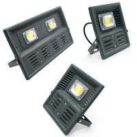 New LED Flood Light 30W 50W 100W LED Outdoor Lighting AC180 265V IP65 Waterproof LED Floodlight