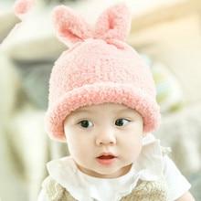 Polar fleece Baby Caps Boys Girls Toddler Winter Warm Baby Hat Cute Cartoon Caps