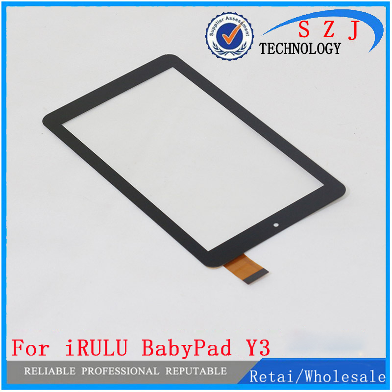 New 7'' inch For iRULU BabyPad Y3 Tablet touch screen panel Digitizer Glass Sensor Replacement Free Shipping