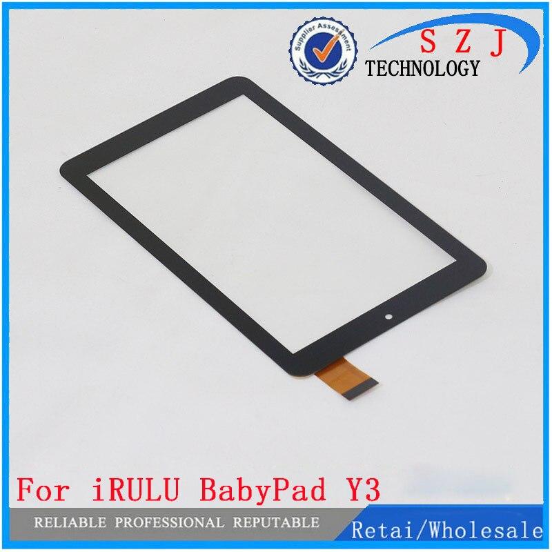 Nouveau 7 ''pouces Pour iRULU BabyPad Y3 Tablet panneau de l'écran tactile Digitizer Capteur En Verre de Remplacement Livraison Gratuite