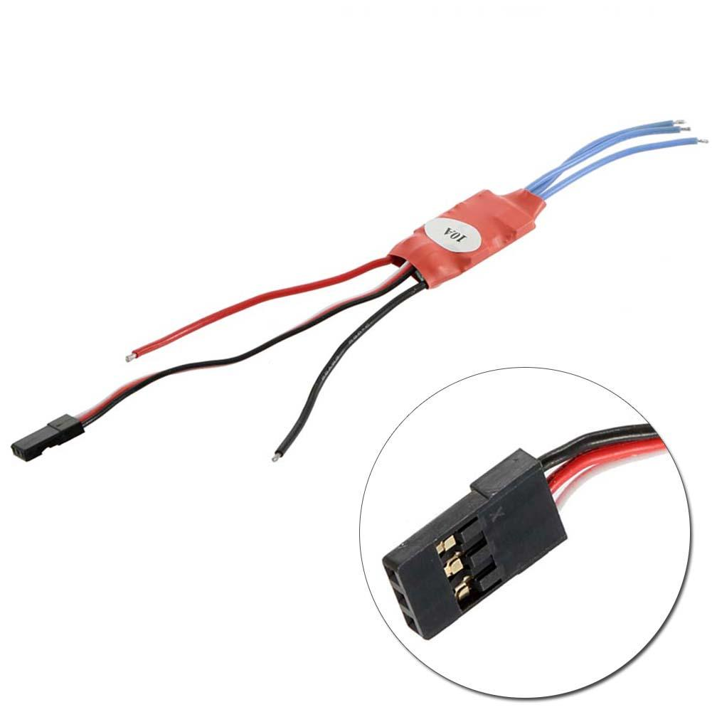 Simonk 10A Brushless Speed Controller ESC For Helicopter Airplane Multirotor