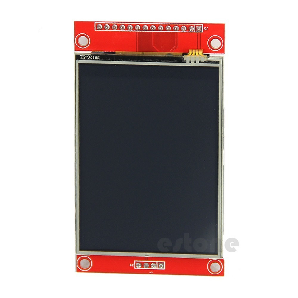 J34 F85 Free Shipping 240x320 2 8 SPI TFT LCD Touch Panel Serial Port Module With