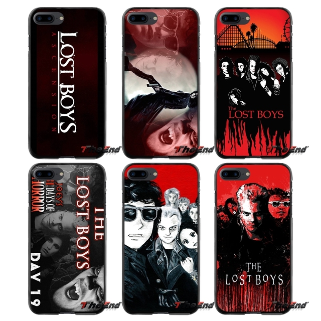 new styles 16205 f0cc3 For Apple iPhone 4 4S 5 5S 5C SE 6 6S 7 8 Plus X iPod Touch 4 5 6  Accessories Phone Cases Covers Lost Boys