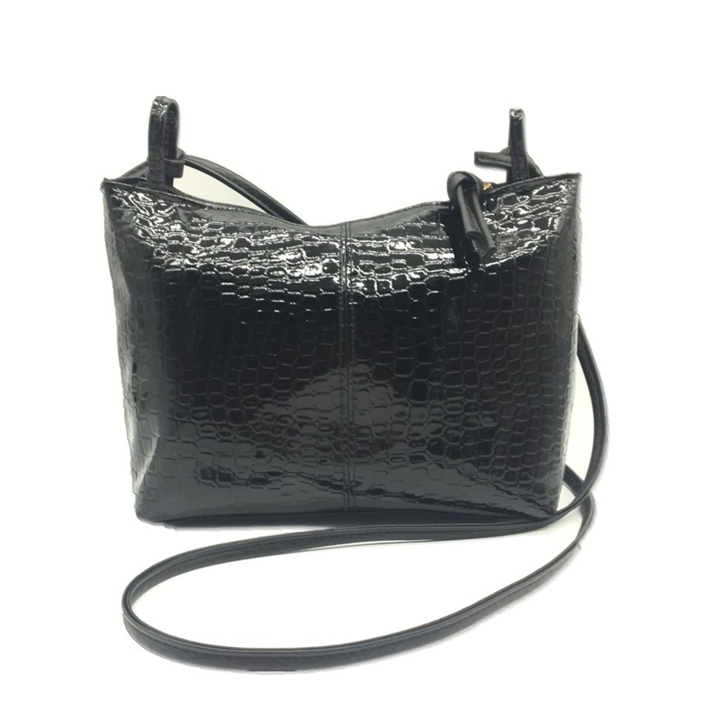 2018 New Fashion Black Pattern Women Small Messenger Bag Designer Handbags Pu Leather Crossbody Purse Famous Brand Shoulder Bags hot new relay g8qe 1a 12vdc g8qe 1a 12vdc g8qe1a 12vdc dc12v 12v dip6 5pcs lot
