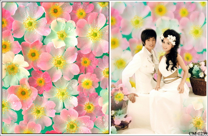 Flowers Baby Vinyl Backdrops for Photography Newborn Spring Photo Background for Custom Wedding Photo Studio fotografia new promotion newborn photographic background christmas vinyl photography backdrops 200cm 300cm photo studio props for baby l823