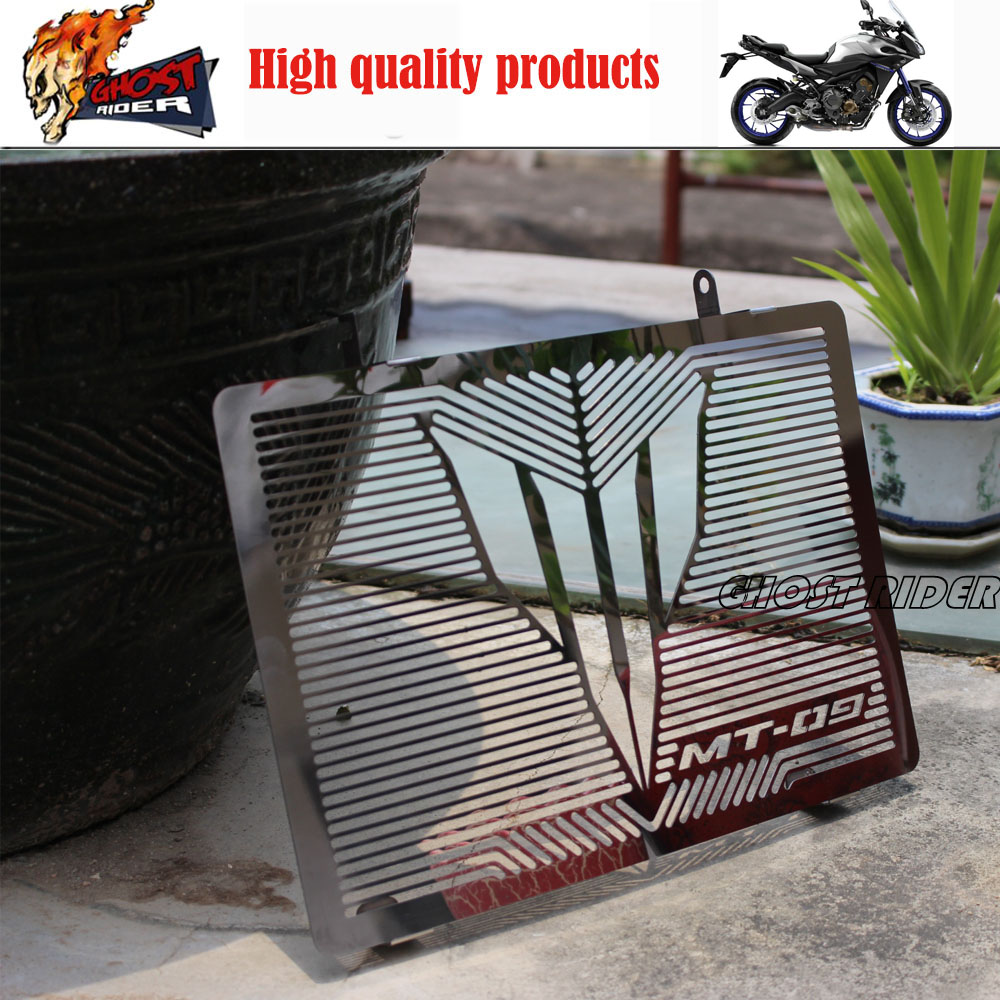 For YAMAHA MT 09 MT 09 Tracer 2015 Motorcycle Accessories Radiator Grille Guard Cover Protector