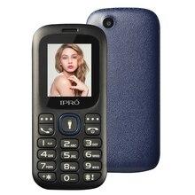 Original IPRO I3185 Freigesetzter Handy GSM SC6531DA 1,77 Zoll Dual SIM Bluetooth Bar Handys mit Englisch Spanisch Russisch