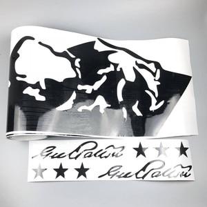 Image 4 - Mountain Off Road Graphic Auto Body Decor Sticker Car Door Side Skirt Vinyl Decal For Jeep Wrangler Rubicon Sahara 4 doors
