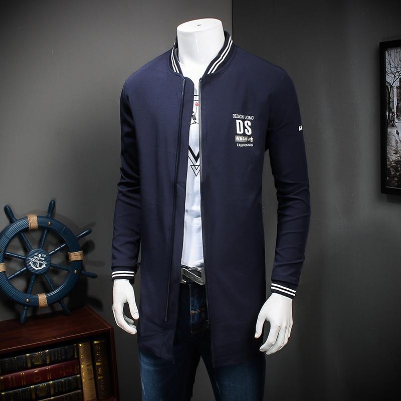 Taille Loisirs Veste Grande De Livraison Manteau Long Foncé 7xl Jeunes blue Marine Allongé neck Bleu Black L 2016v Avec Gratuite Hommes 5wq7OBY