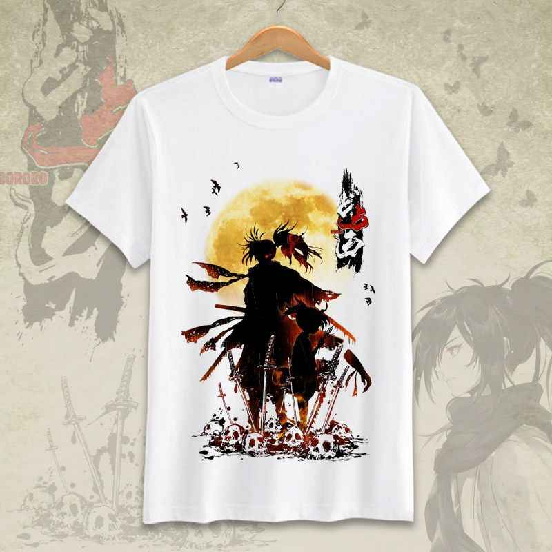 Other1 Dororo Anime Beauty Hyakkimaru Teens Crew Neck Sweat-Absorbent Breathable Sports Short-Sleeved Summer Boys T-Shirt