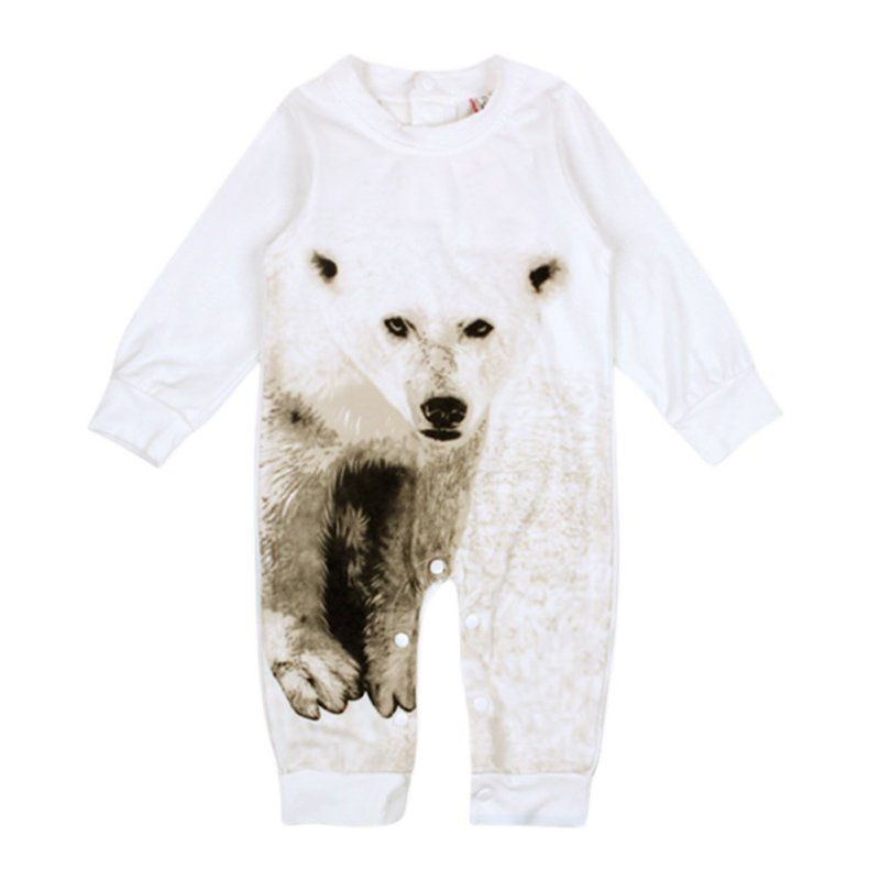 New Arrival Bebe Kids Baby Boy Warm Infant Romper Jumpsuit Cotton Animal Pattern Clothes Outfits new arrival boy costumes rompers cotton newborn infant baby boys romper jumpsuit sunsuit clothes outfits