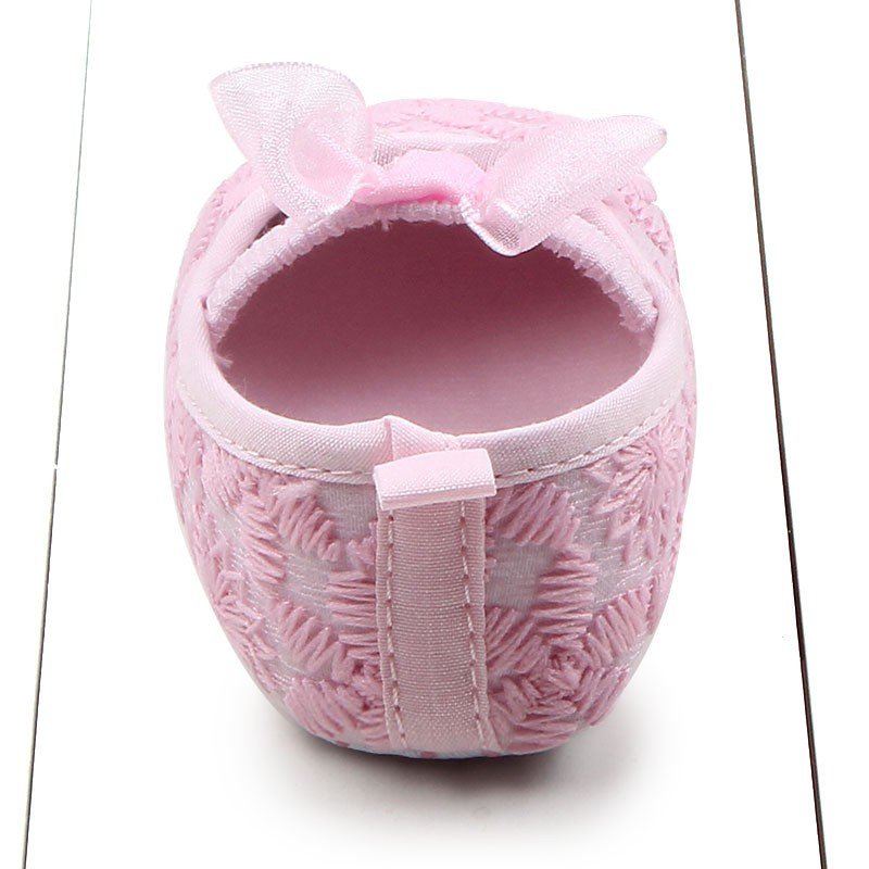 Hot Autumn Toddler Newborn Babys Infants Girls Shallow Soft Sole Crib Shoes Prewalkers 0-12M 2017