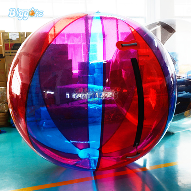 Colorful Inflatable water ball inflatable water rolling ball