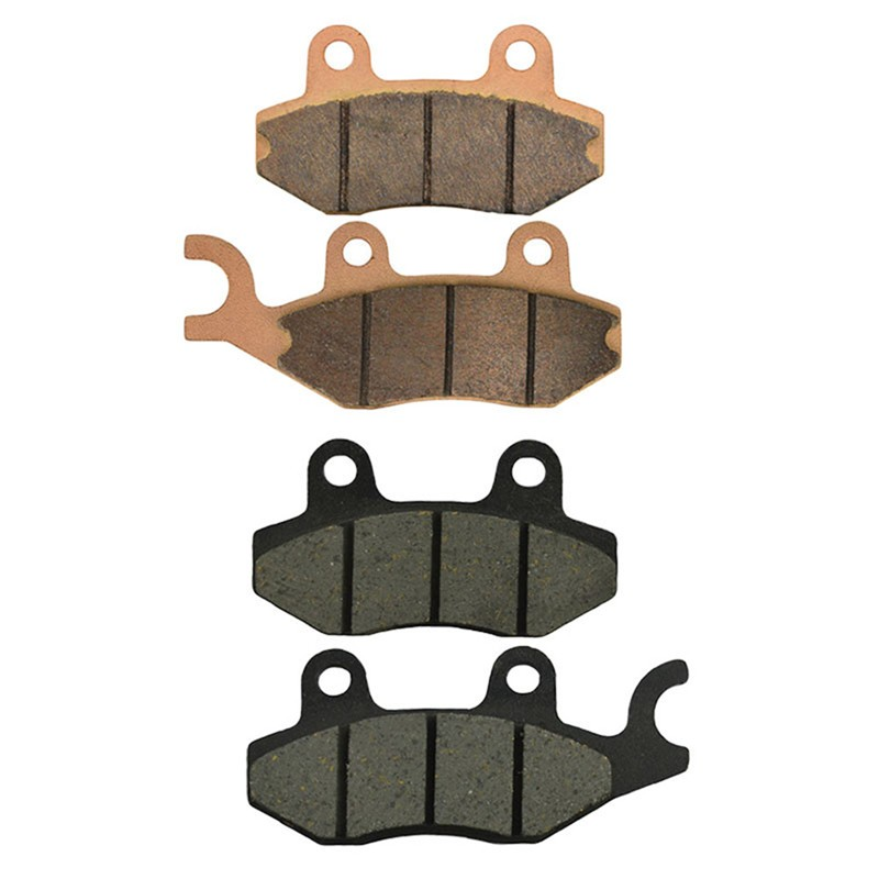Motorcycle Front and Rear Brake Pads for YAMAHA ATV Rhino 700 / Ducks YXR - Unlimited Edition 2008-2009 Brake Disc Pad motorcycle front and rear brake pads for yamaha fzr 400 fzr400 3en1 1988 brake disc pad