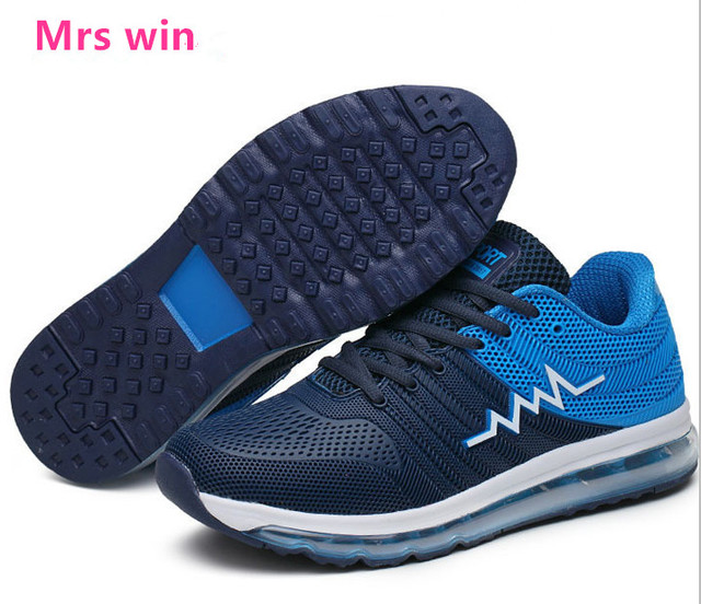 men running shoes Full palm air cushion trainers breathable sport shoes men sneakers Outdoor  jogging walking arena shoes