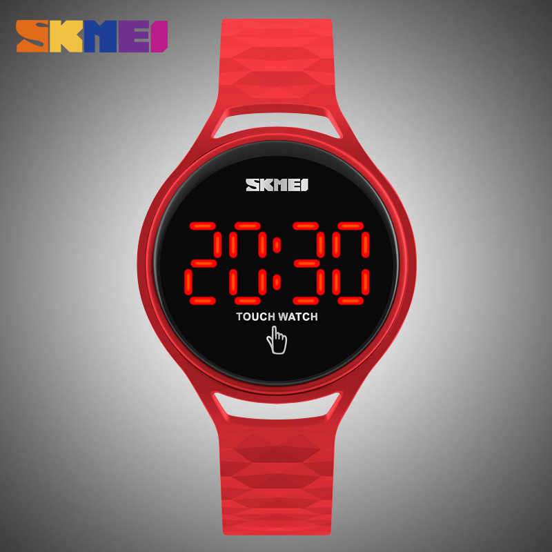 8e946e52c ... SKMEI LED Touch Screen Sport Watches Ladies Watch Luxury Waterproof  Fashion Brand Digital Wrist Watch Women