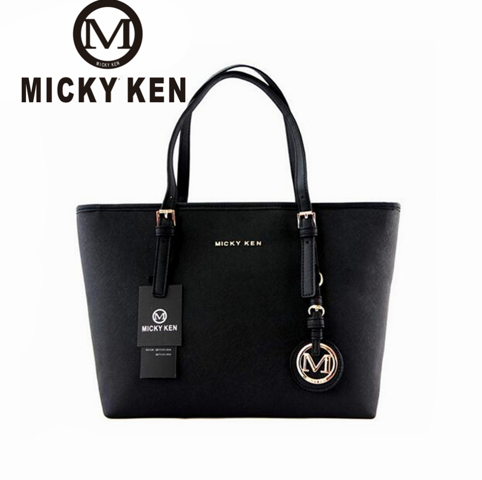 MICKY KEN Brand new 2017 women handbags big pu leather high quality letter female bag designer bolsos mujer sac a main totes821 micky ken bolsa feminina 2018 women handbags big pu leather high quality letter female bag designer bolsos mujer sac a main tote