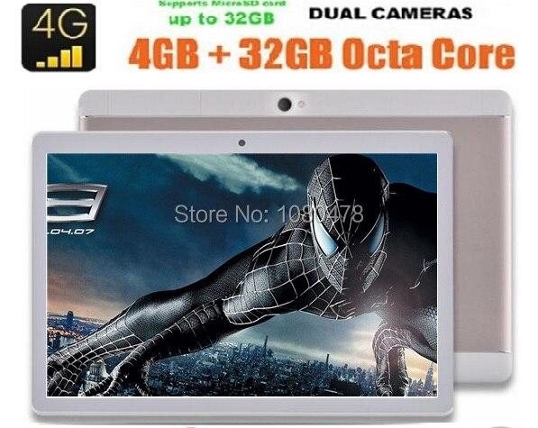 2017 New 10 inch 4G LTE Tablet PC Octa Core 1920 1200 4GB RAM 64GB ROM