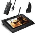 Parblo Coast 10 графический планшет монитор для рисования HD ips с ярлыками и без батареи ручка + противообрастающая перчатка