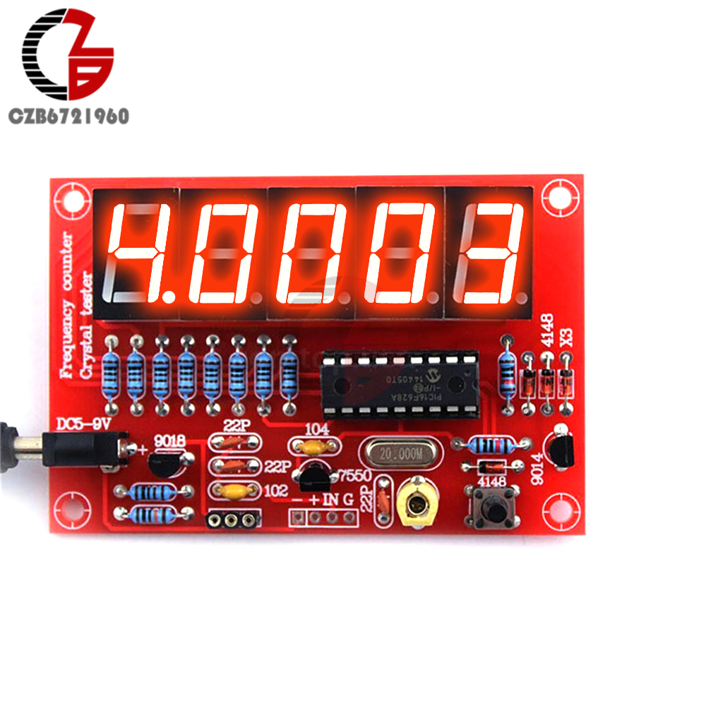 Detail Feedback Questions About Diy Kits Rf Crystal Oscillator Using Ttl Frequency Counter Meter 1hz 50mhz Programmable Digital Led Tester 5v Power