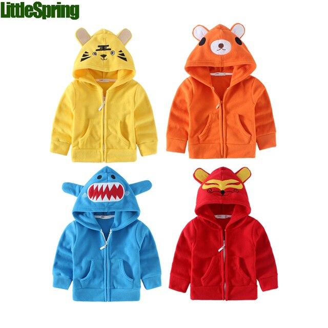 kids hoodies spring fall winter baby boy girls hoodies sweatshirts kid animal design christmas clothing