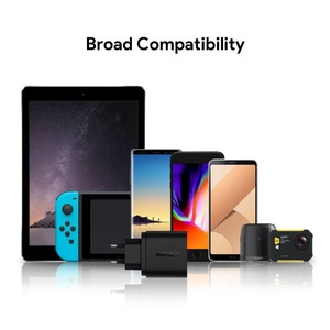 Image 5 - AUKEY Quick Charge QC 3.0 USB Phone Charger Travel Fast Wall USB Charger QC2.0 Compatible Free 1m Fast Cable for Xiaomi Samsung