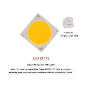 Image 5 - مصباح led كامل الطيف من CREE CXB3590 بقدرة 100 واط ، خيمة الزراعة المائية الداخلية ، خيمة نمو النباتات الطبية التجارية