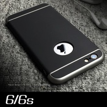 100% original Qoowa luxury 3 in 1 design for iphone 6s for iphone 6 plastic case hard matte touch classic and updated version
