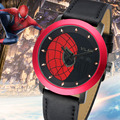 Original Brand VILAM Quartz-Watch Men Spiderman Design Watches Waterproof 3ATM Outdoor Sport Wristwatches Relogio Masculino 2016