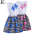 KEAIYOUHUO 2017 Family Matching Clothes Sleeveless Children Clothing Formal Girls Dress Teenagers Party Dresses Mom And Daughter