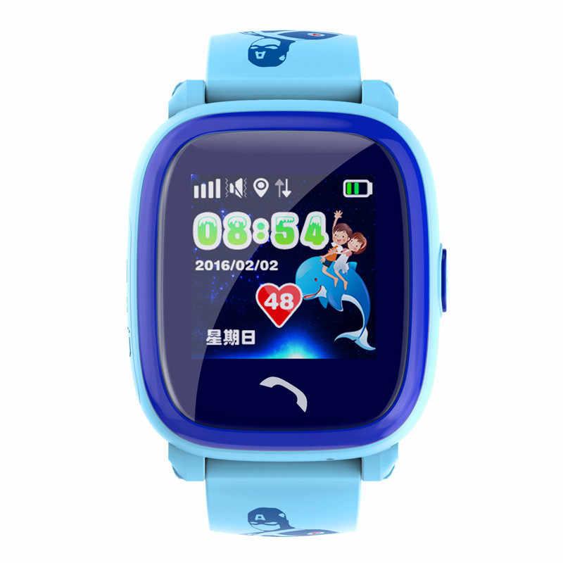 Smart Watch for Child Waterproof GPS Safe Anti-Lost Monitor Children Clock SOS Call Location Device Tracker Clock Alarm Phone