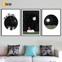 The Little Prince Wall Art Canvas Painting Nordic Posters And Prints Wall Pictures For Kids Bedroom Baby Boy Room Home Decor scott woods prince and little weird black boy gods