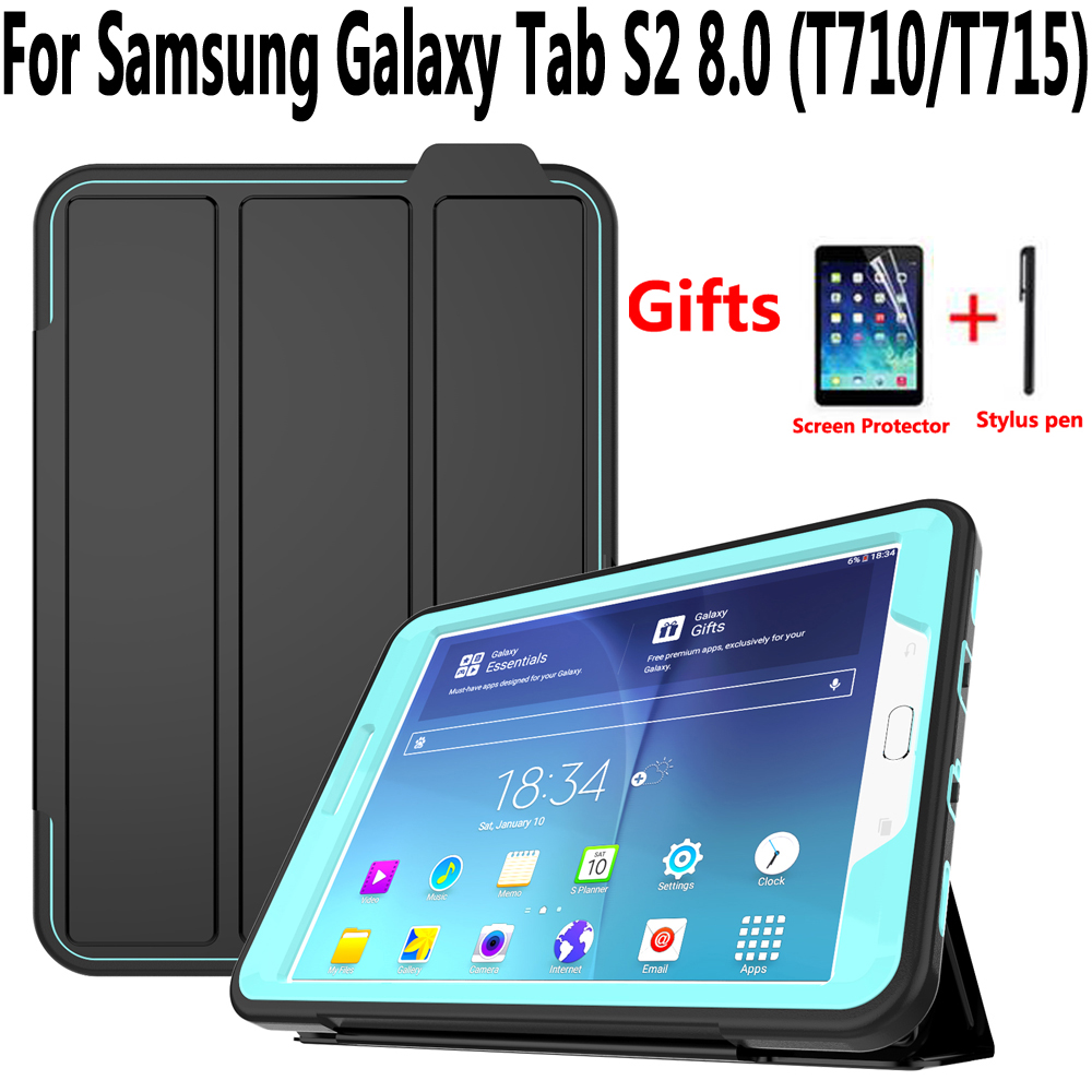 """100/% Genuine Tempered Glass Film Skin Cover For Samsung Tab E T377 8/"""" Tablet"""