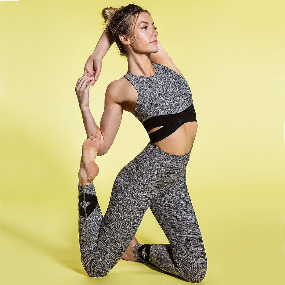 5f29293314a7c Women's Sports Fitness Yoga Pants Functional Gym Running Workout Pant  running Ankle-length Pants Quick-drying Push Up Leggings ...