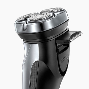 Image 5 - Flyco IPX7 Waterproof 1 Hour Charge Washable Rechargable Rotary Shaver For Men Electric Shaving Machine FS339 C FR8 Cutter Head