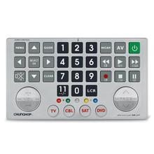 Chunghop kombinasyon uzaktan kumanda öğrenmek uzaktan TV SAT DVD CBL DVB T AUX evrensel denetleyici kod ile büyük anahtar düğmesi