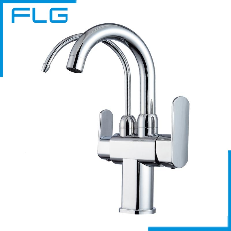free shipping brass 360 degree rotate sink mixer drinking water