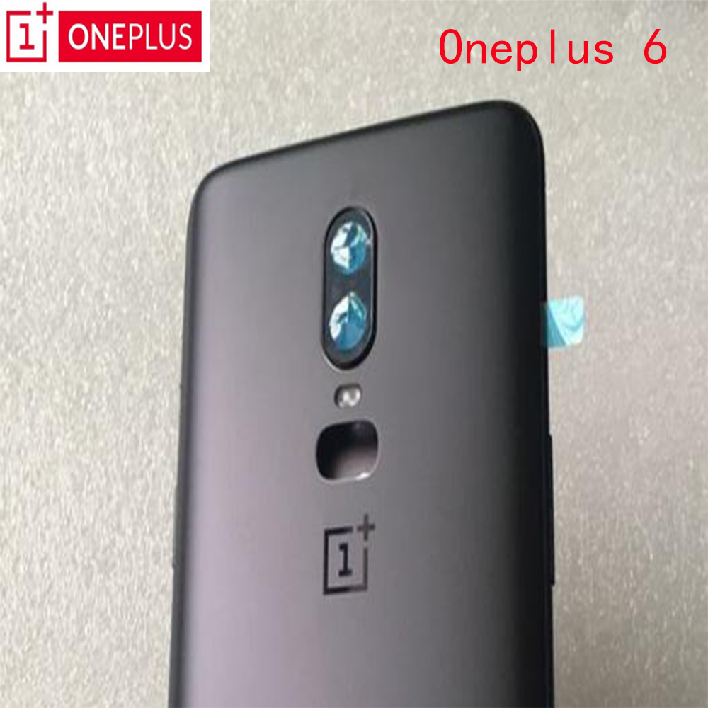 Housing-Cover Battery-Case Replacement Camera-Lens Glass ONEPLUS Back-Door 100%Original